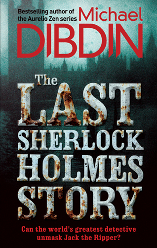 The Last Sherlock Holmes Story, Front Cover